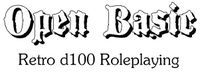 RPG: Open Basic: Retro d100 Roleplaying