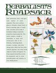 Issue: EONS #147 - Herbalist's Knapsack