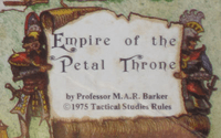 RPG: Empire of the Petal Throne