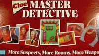 Board Game: Clue Master Detective