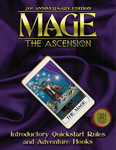 RPG Item: Mage: The Ascension 20th Anniversary Edition - Introductory Quickstart Rules and Adventure Hooks