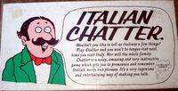 Board Game: Italian Chatter