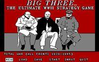 Video Game: Big Three