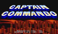Video Game: Captain Commando