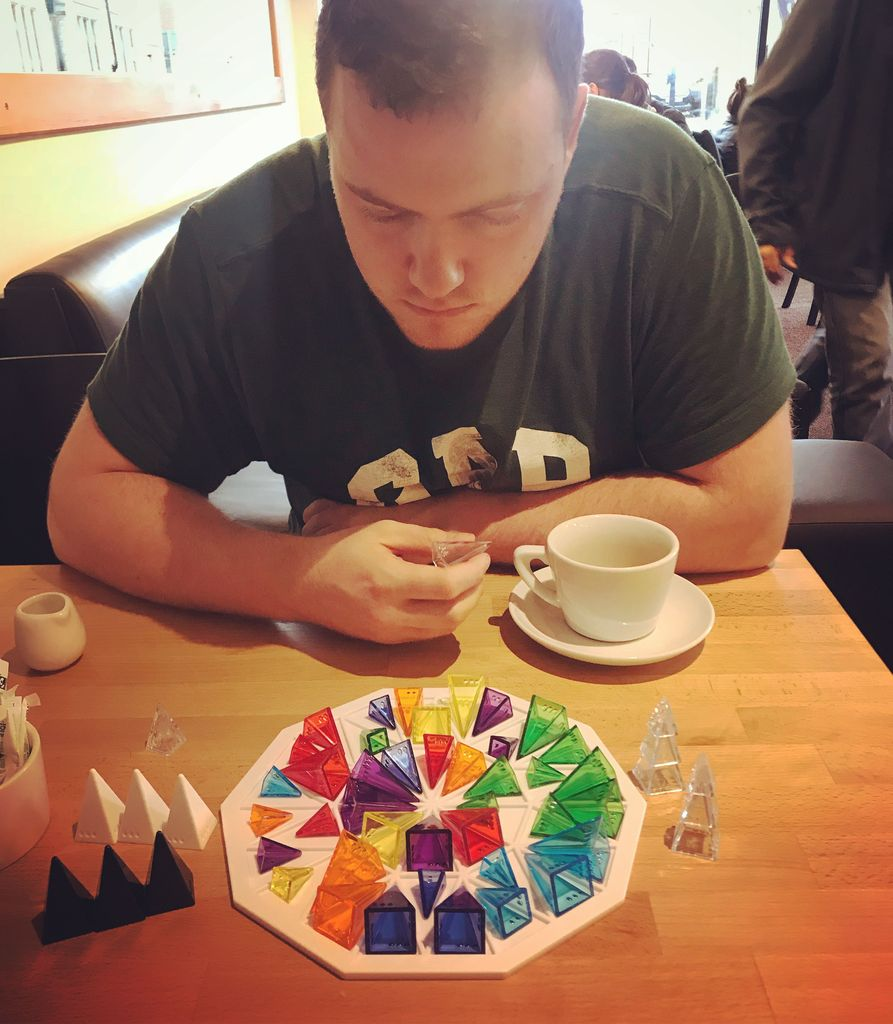 Board Game: Color Wheel