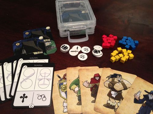 Board Game: Quest for the Open Tavern