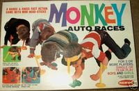 Board Game: Monkey Auto Races