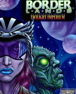 Twilight Imperium: Borderlands Cover Artwork