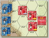 Board Game: The Battle of Guilford Courthouse: The Beginning of the End