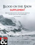 RPG Item: Blood on the Snow: Supplement