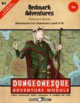 RPG Item: Redmark Adventures Volume I: Varria (1E)