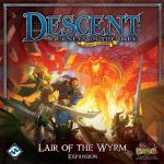 Board Game: Descent: Journeys in the Dark (Second Edition) – Lair of the Wyrm