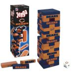 Board Game: Jenga: Chicago Bears Collector's Edition