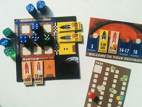 Board Game: Hauling Astronauts