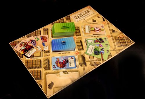 Board Game: Gang Up!