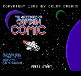 Video Game: The Adventures of Captain Comic