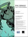 RPG Item: Evil Genius #2: Crime & Punishment