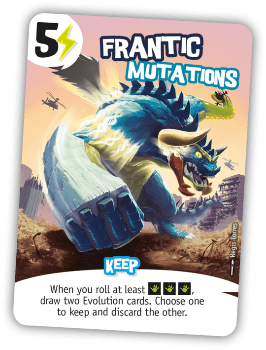 King of Tokyo: Frantic Mutations Promo Card