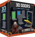 Board Game Accessory: Zombicide: Invader – 3D Plastic Doors