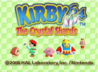Video Game: Kirby 64: The Crystal Shards