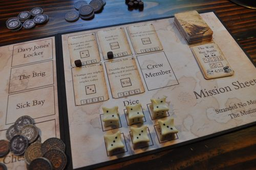Board Game: Stranded No More: The Mutiny
