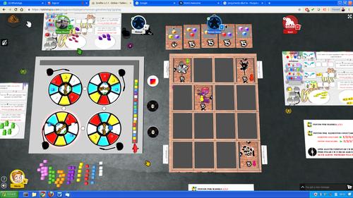 Board Game: Grafito