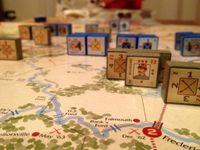 Beauregarde slowly retreating south