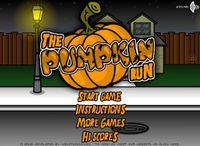 Video Game: The Pumpkin Run