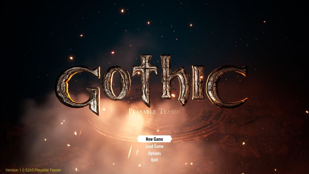 Video Game: Gothic (2020)