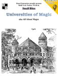 RPG Item: Universities of Magic