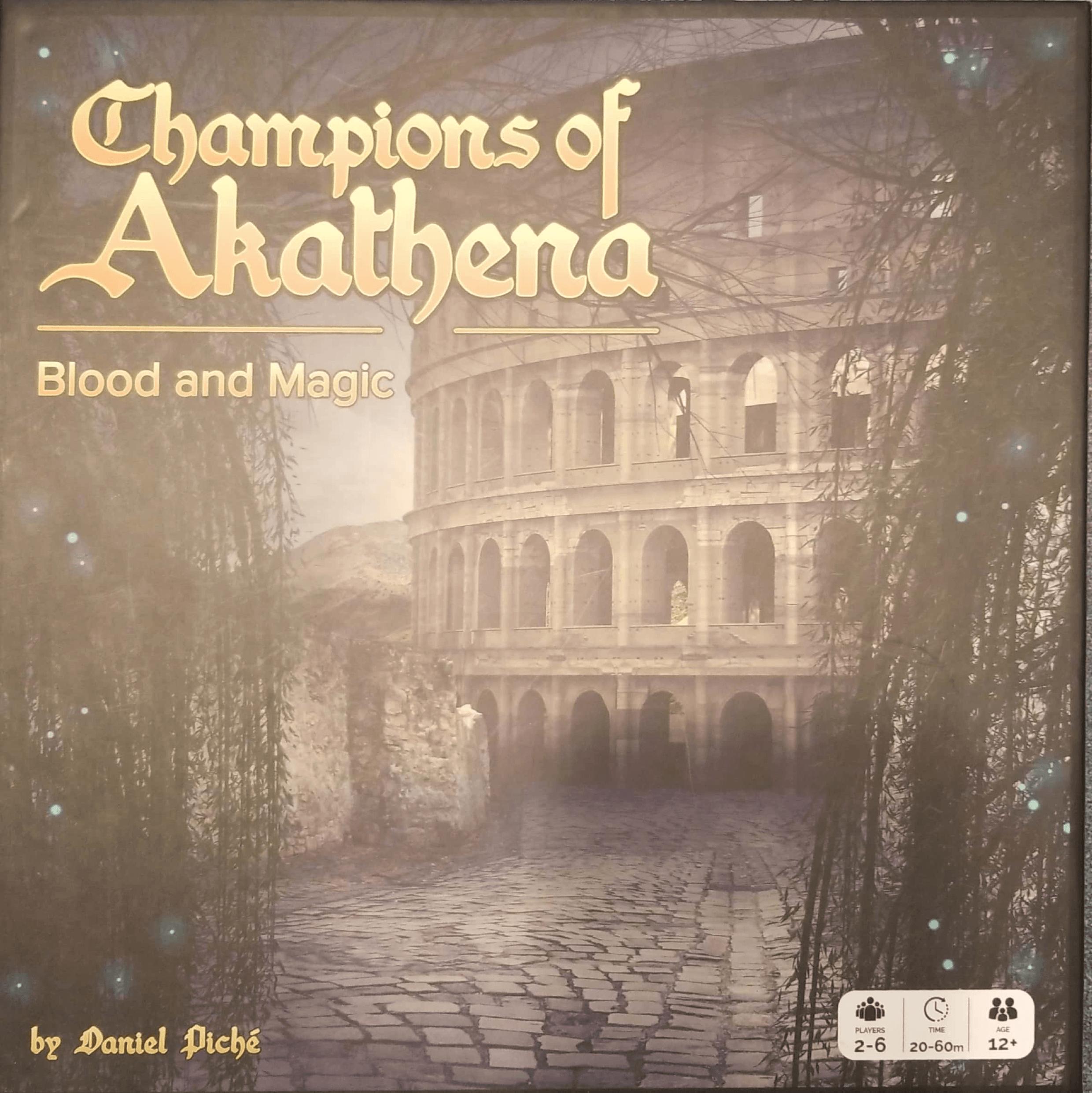 Champions of Akathena: Blood and Magic