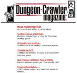 Issue: Dungeon Crawler Magazine (Mar 2001)