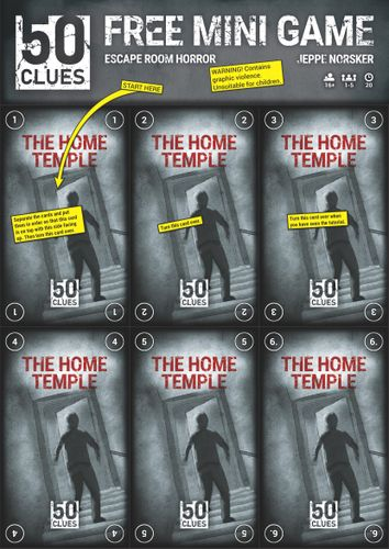 Board Game: 50 Clues: The Home Temple