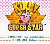 Video Game: Kirby Super Star