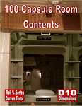 RPG Item: 100 Capsule Room Contents