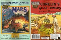 RPG Item: Cloud Captains of Mars & Conklin's Atlas of the Worlds