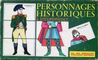 Board Game: Personnages Historiques a Reconstituer