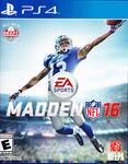 Video Game: Madden NFL 16