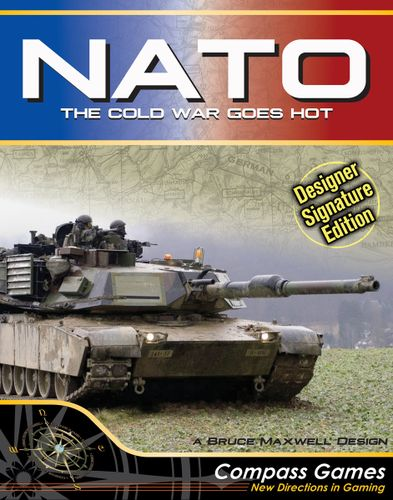 Board Game: NATO: The Cold War Goes Hot – Designer Signature Edition