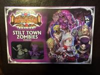Board Game: Super Dungeon Explore: Stilt Town Zombies Warband