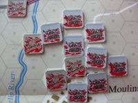 Board Game: First Blood: Second Marne, 15 July 1918