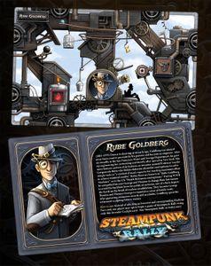Steampunk Rally: Rube Goldberg Cover Artwork