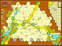 Board Game: 1881: Das Berliner Strassenbahnspiel