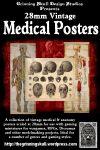 RPG Item: 28mm Vintage Medical Posters