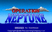 Video Game: Operation Neptune