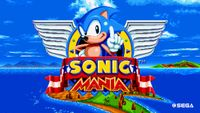 Video Game: Sonic Mania