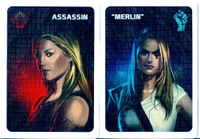 Board Game: The Resistance: Merlin/Assassin Promo