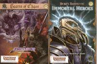 RPG Item: Hero's Handbook: Immortal Heroes / Amethyst: Hearts of Chaos