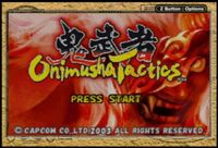 Video Game: Onimusha Tactics