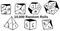 Series: 10,000 Random Rolls